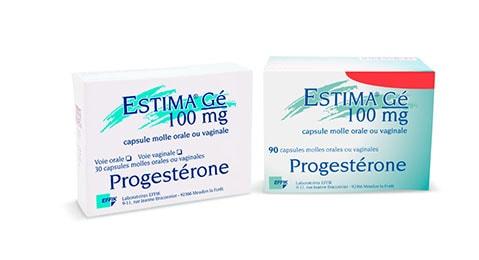Estima 100 - 30 et 90 capsules
